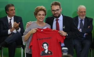 Brasília- DF 22-03-2016 Presidenta Dilma Encontro com Juristas pela Legalidade e em Defesa da Democracia. Foto: Lula Marques/ Agência PT