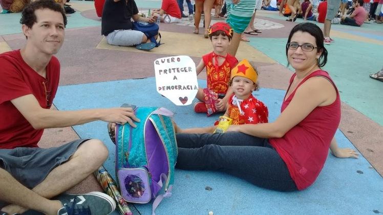 Jovem família recifense: cidadania para o futuro