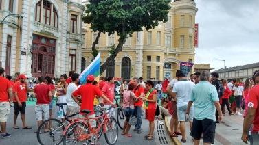 Paulo Rubem com o povo