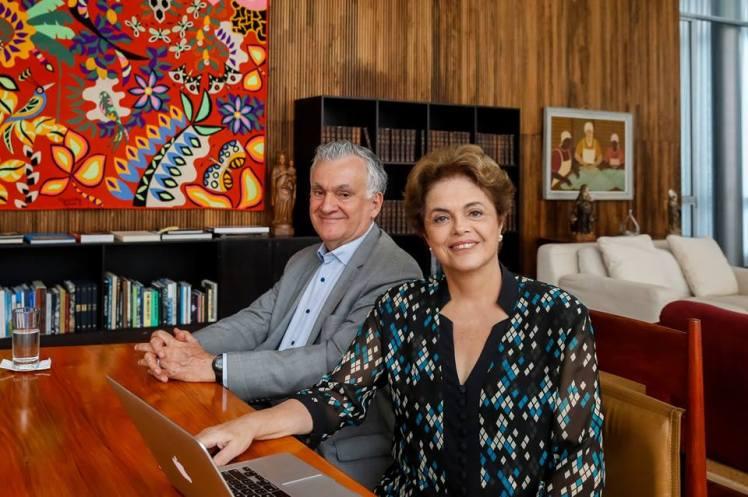Dilma e Juca s o MInc_19.05.2016