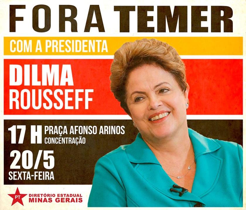 Dilma no fora temer
