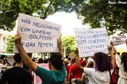 Protesto em Belém do Pará - Foto: Jornalistas Livres
