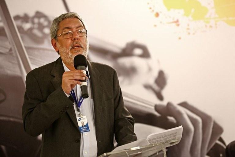 Ricardo Melo, diretor-presidente da EBC , exonerado por Temer, tem, por lei, mandato de quatro anos - Foto: Agência Brasil