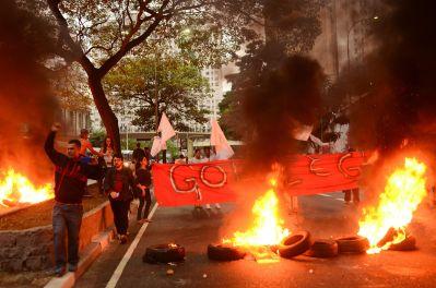 Ato em São Paulo, ao lado da Praça da Bandeira - Foto: Rovena Rosa/Agência Brasil/Fotos Públicas