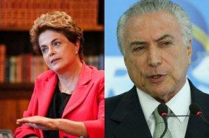 A pesquisa Permite identificar como a população compara a Presidência de Dilma Rousseff com o que foi feito por Michel Temer até agora - Fotos: Roberto Stuckert Fo/PR e Lula Marques/AGPT