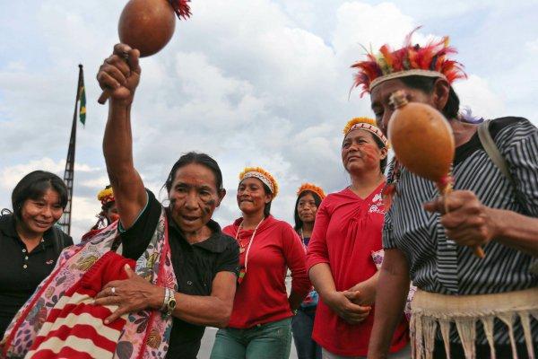 Povo Kaiowá-Guarani no MS luta pela demarcação de suas terras - Foto: Revista Brasileiros