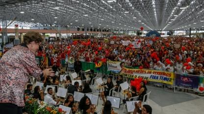Em João Pessoa-PB, Dilma participa de audiência pública sobre democracia e o atual momento brasileiro: Fotos: Roberto Stuckert Filho/PR/Fotos Públicas