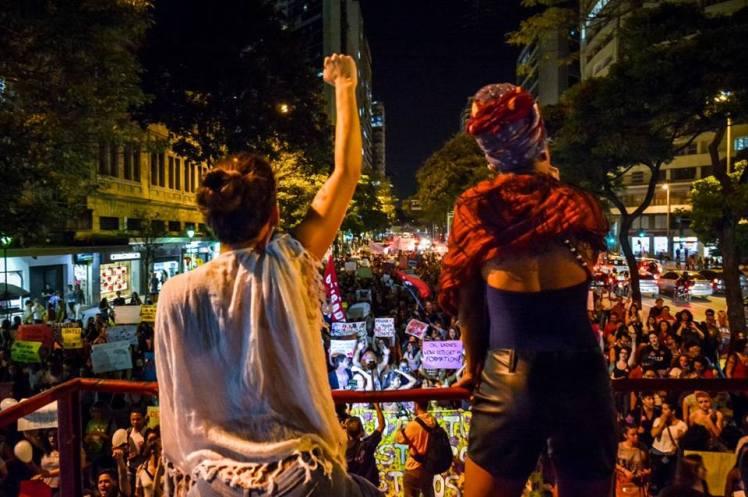 #PorTodasElas, mulheres lotam as ruas de Beagá - Foto: Maxwell Velasco/Jornalistas Livres