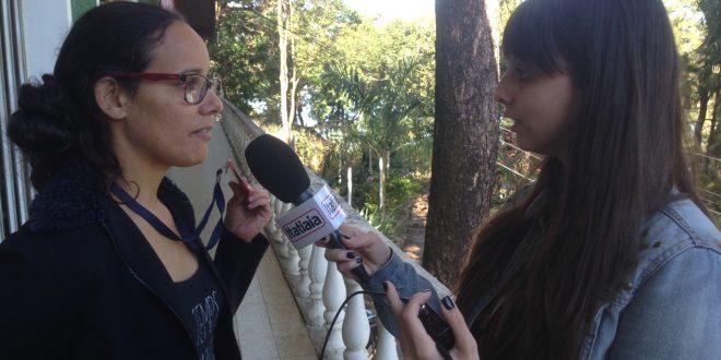 A repórter Verônica Pimenta é diretora do Sindicato dos Jornalistas - Foto: Kerison Lopes/SJPMG