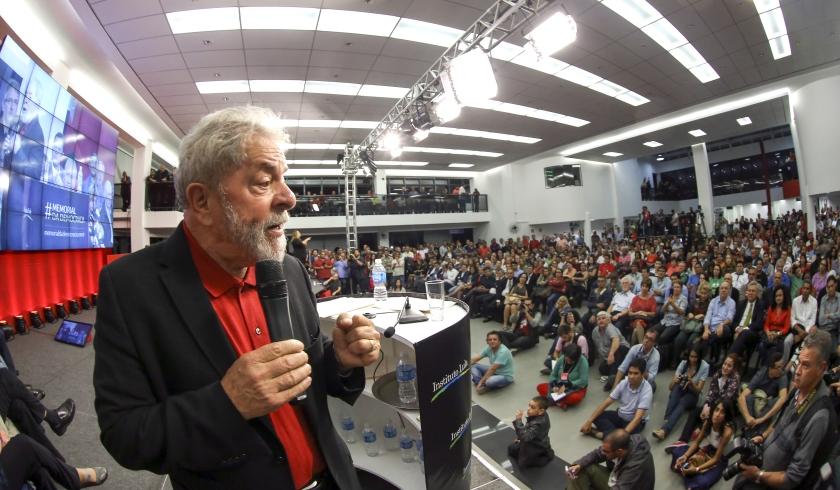 Lula fala aos bancários no seminário O Brasil que a gente quer - Foto: Ricard Stuckert / Instituto Lula