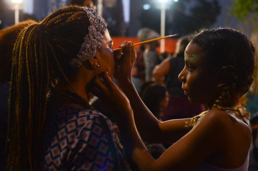 Marcha das Mulheres Negras contra o racismo, o machismo, o genocídio e a lesbofobia. Concentração na Praça Roosevelt, Centro-SP - Foto: Rovena Rosa/Agência Brasil/Fotos Públicas