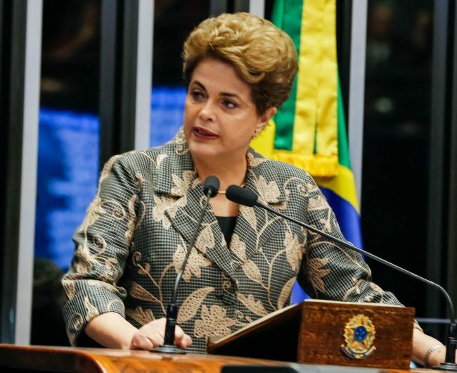 Dilma Vanna Roussef, primeira mulher presidenta do Brasil é deposta por golpe parlamentar em 31 de agosto de 2016 - Foto: Roberto Stuckert Filho/PR