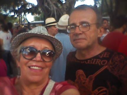 Julio e Eu na resistência 2016