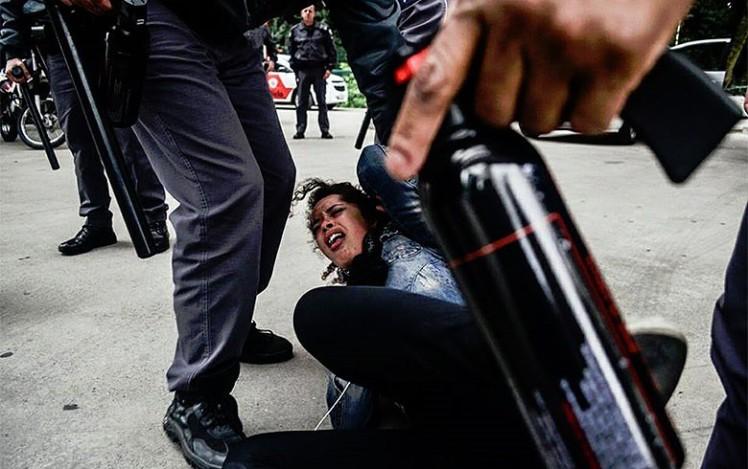 Abuso de poder, desrespeito ao ECA e à Constituição - Foto: Christian Braga/Jornalistas Livres
