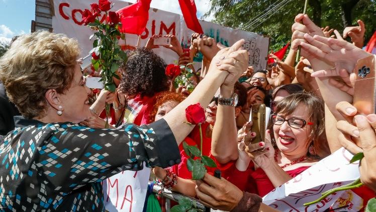 Dilma no Encontro pela Democracia na UFPE, em meados de junho no Recife - Foto: Roberto Stuckert Filho/PR - Fotos Públicas