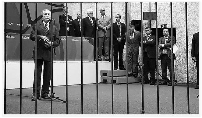 O enquadramento perfeito - Foto: Regina Scgnejeb _Süddeutsche Zeitung_Munique, capturada no FB/Jornalistas Livres