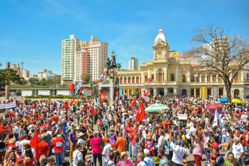 Praça da Estação em Belo Horizonte - Fotos: Maxwel Vilela/Jornalistas Livres