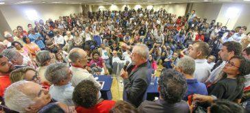 Ex-presidente Lula durante a coletiva em São Paulo - Foto: Ricardo Stuckert/Instituto Lula/Fotos Públicas