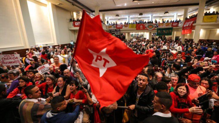 Lançamento do 6º Congresso Anual, do partido,, em São Paulo, na sexta-feira, 20 - Foto:Paulo Pinto/Agência PT