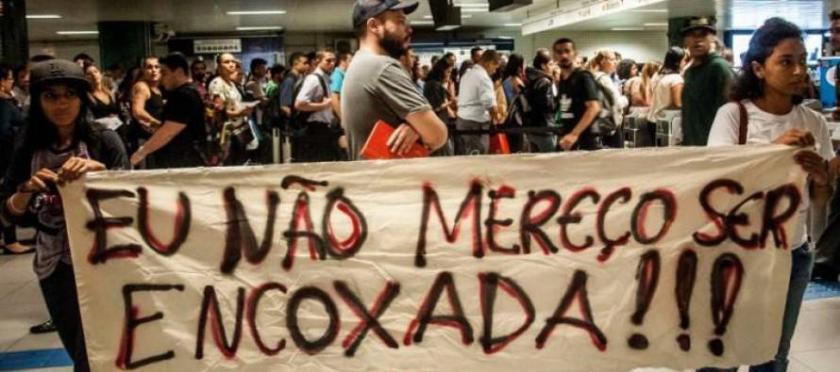 Os protestos em São Paulo, quando da aprovação da lei em 2014 - Foto: Carta Maior