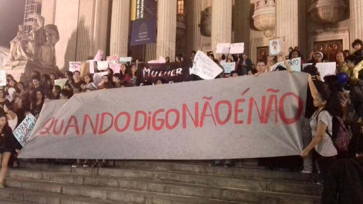 Contra a cultura do estupro - Rio de Janeiro, 2016 - Foto: Midia Ninja