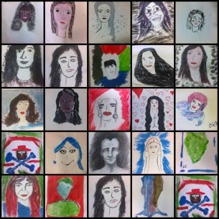Aulas de Arte - professora Amarilis Coragem - UFMG