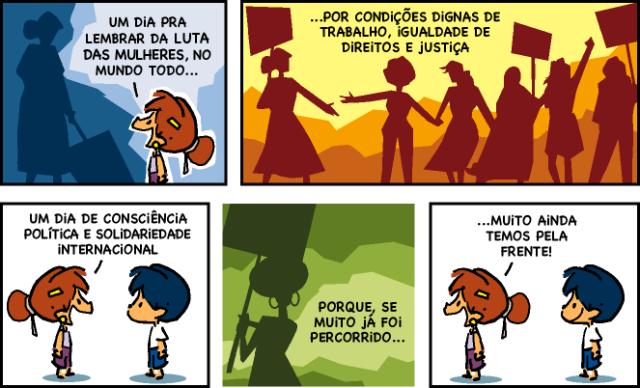 Armandinho e o 8 de março