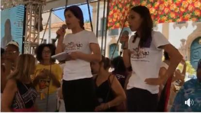Assembleia mundial de mulheres -kurdas - Pelourinho- JL