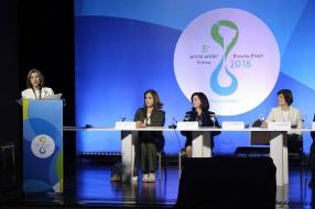 Brasila DF 19 03 2018 A ministra Carmem Lucia durante 8º Fórum Mundial da Agua Brasília 19 de março 2018 - 8º Fórum Mundial da Agua.FOTO:G.Dettmar/Ag.CNJ