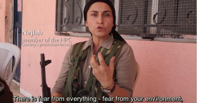 Nejlah, embro do HPC_Rojava
