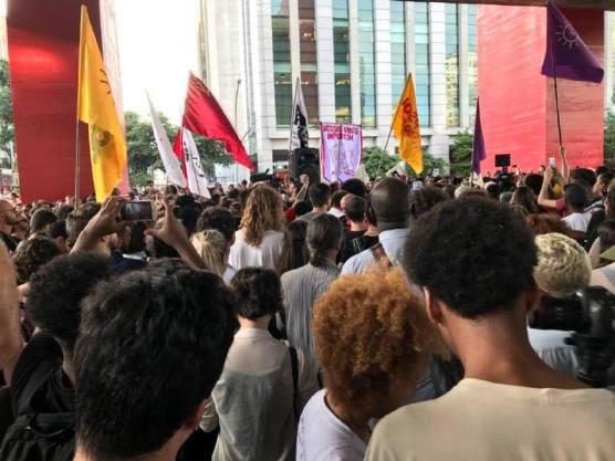 São Paulo-multidão