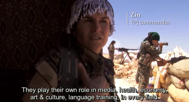 Zin, comandante YPJ