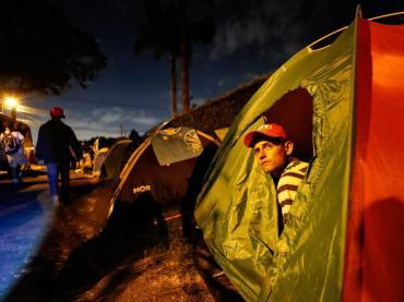 Acampados Lula Livre-Ricardo Stuckert