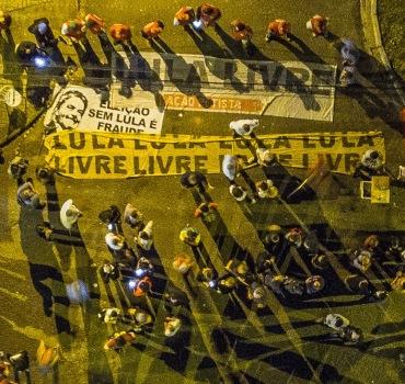Acampamento Lula Livre - Ricardo Stuckert