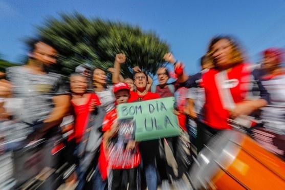 O Bom-dia, Lula é dose diária de energia - Foto: Ricardo Stuckert