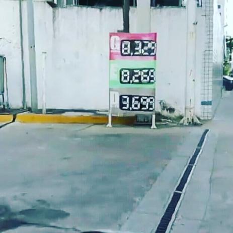 preço em bombas do recife-maio 2018