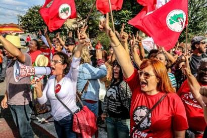 80 dias de Vigília Lula Livre - Fotos: Eduardo Matysiak/Agência PT