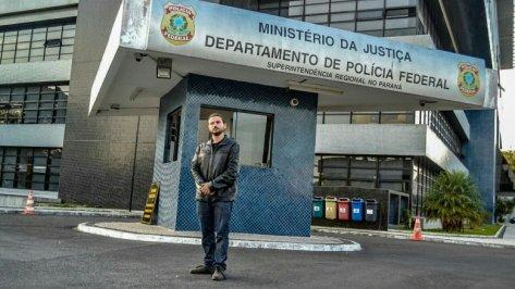 Juan Gabrois, o enviado do Papa Francisco, impedido de visitar Lula pela PF de Curitiba - Foto Eduardo Matysiak/Agência PT