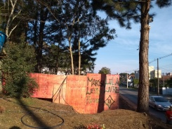 Muro de tapume
