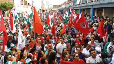 Ato em Caetés, PE - Brasil de Fato