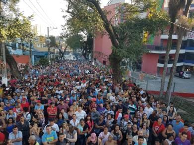 Ato público em São Bernardo do Campo, SP SP- Foto: CUT-