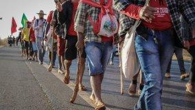 O povo da Marcha na estrada - Foto: Julia Dolce
