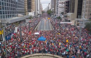 Av.Paulista domigo 16.09 -Ricardo Stuckert