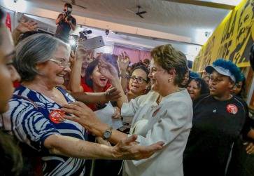 Ato Mulheres com Dilma, no Clube Oásis, em Santa Tereza, BH - Fotos: Dilma Oficial