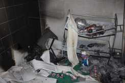 interior psf destruído - Pankaruru