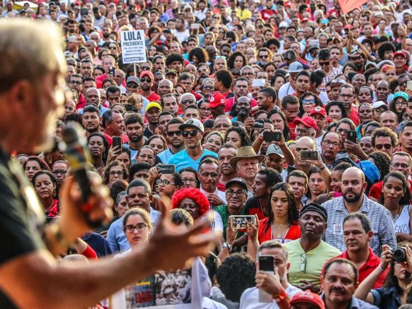 Lula em São Bernardo -Ricardo Stuckert