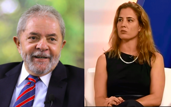 Lula e juiza Gabriela Hardnt
