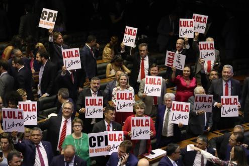 Bancada do PT - Foto: Lula Marques/AgPT