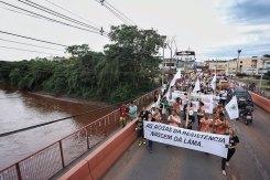 Passeata em Brumadinho - Foto: MAB