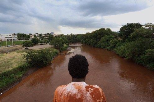 Rio Paraopeba em Brumadinho - Foto: MAB